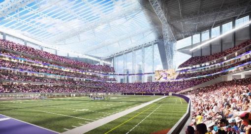 MN Vikings stadium design: Big, bold, glassy | StarTribune.com