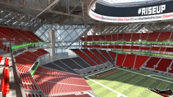 Upper Bowl view from the North.